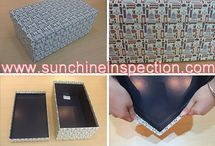 Gift boxes inspection service
