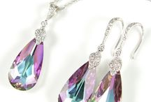 Complete The Look - Iridescent Multi Crystal Jewelry