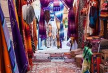 Morocco Luxury Yoga Retreat / A luxury yoga retreat in fascinating Morocco at a 5* hotel in Marrakesh. Yoga twice a day, dips in the pool, massages and body scrubs, shopping in the outdoor markets, and a wonderful dinner in the desert.