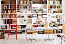 Interiors: home office / Inspiration for a sleek modern home office