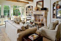 Living Room Ideas & Decor / by Elaina Smith