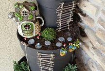 Fun in garden