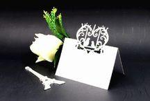 carte de verre,porte noms,marque place oiseau ,decoration table mariage