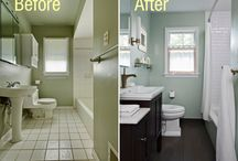 Bathroom do-over ideas / by Shelley Corpuz-Kuhn