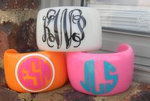 A Southern Belle & Monograms! / by Brooke Manquen