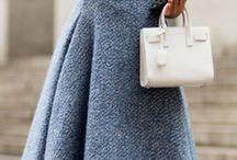 Wool dresses
