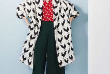 Prints-a-Poppin' / The simplest silhouette can become so much more with just the right pattern in the right colors.