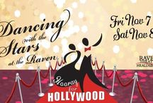 2014 Dancing with the Stars at the Raven / Annual entertaining, rousing fundraiser benefiting the Raven. Two exciting and unique nights of dance!  Fri Nov 7 & Sat Nov 8 2014 at Raven Healdsburg. http://www.raventheater.org/dwts/ / by Raven Performing Arts Theater
