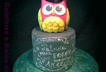 Meus Bolos/ My Cakes / Estes são os bolos alguns dos bolos decorados que tenho feito.