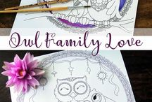 Coloring and Zentangle