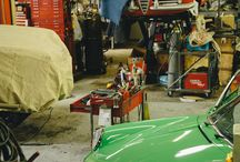 Classic Car Garages and Workshops