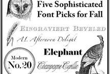 Fonts/Graphics/Etc.