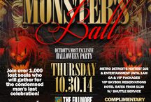 Monster's Ball / Join over 1,000 lost souls who will gather for the condemned man's last celebration in Detroit at the inaugural Monster's Ball. This year's event will feature Metro Detroit's hottest DJs and entertainment laying the foundation for an annual event that will be talked about every full moon and Friday the 13th!