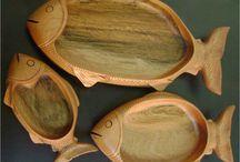 churrasco de madera