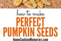 Don't throw those pumpkin seeds away after carving your Halloween jack-o