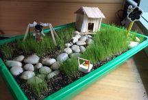 Tuinieren / Allerlei leuke ideeén voor de tuin. Er staan ook veel knutsel dingetjes in voor de tuin.
