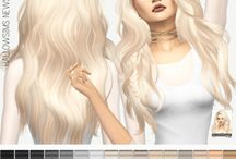 Sims 4 cheveux