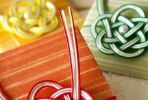 水引 mizuhiki / decorative Japanese cord made from twisted paper
