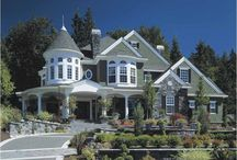 Dream Houses / My favorite houses, for research and for daydreaming. :-)