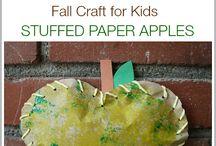 bricolage d'automne pour les enfants