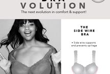Bra-volution / The Bravolution is here! 18 plus size bras. 9 innovations. 25 great colors. Looking for comfort in a stylish, comfortable, colorful bra that's just the right fit for your curves?  Your search is over...