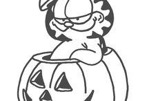 Garfield / omalovánky