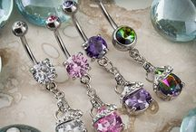 Navels / An assortment of navel jewelry