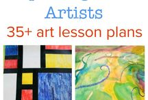 Homeschool Art Inspiraton