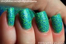 Ninja Polish Floam® collection / Ninja Polish Floam® collection has a wide variety and is still growing of various color combinations of our wildly popular Floam® nail polish