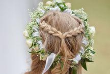 flower girls hair styles