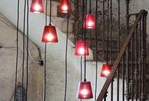Luminaires escaliers