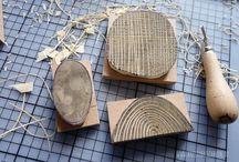 Printmaking, carve