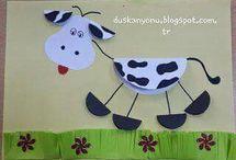 décoration enfants sur les animaux