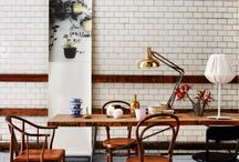 The Studio dining / by Dominique Brammah