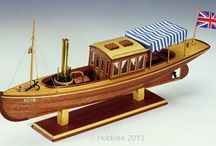 Model and steam boats .