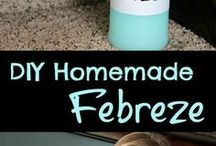 DIY homemade kitchen and bathroom cleaning products