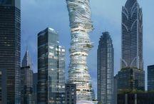 Architecture & Interior Design / by Lea Hoddersen