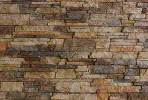 Interior stone panels