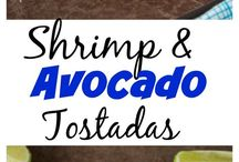 Shrimp avocado