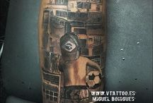 Tatuaje Fotbal