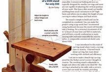Pomůcky pro dřevořezbu