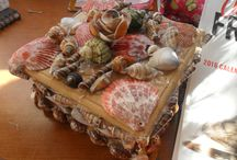 Shell Crafts / Things Made Out Of Shells