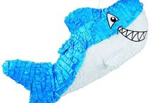 Piñata de tiburón