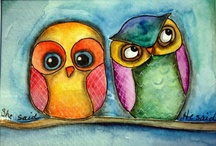 Illustrations - Owls / by LT