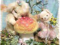 夢ノ花中 yumenokachu / Teddy bear and animated stuffed animated works