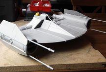 Concept Clone Fighter / 1:18 CONCEPT Clone Fighter by Lasse Henning from the Warren Fu Design