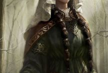 Medieval clothing women / Historical clothing: Middle Ages