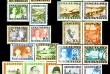 stamp collection / stamps in the world