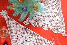 Karácsonyi horgolások tárháza
