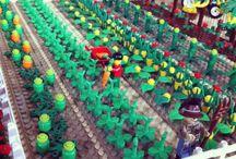 Lego - Farmy